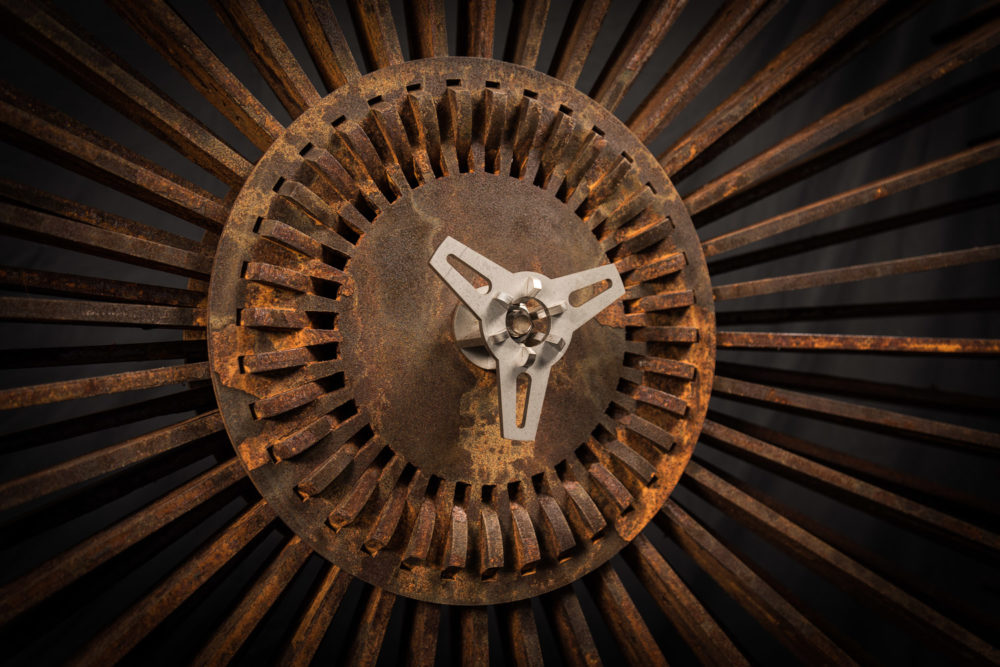 rad art Stahlskulpturen von Luke Zollinger
